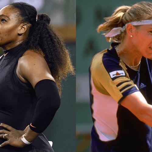 Serena Williams and Graf
