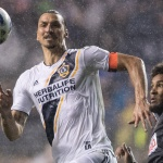 Zlatan Ibrahimovic scores