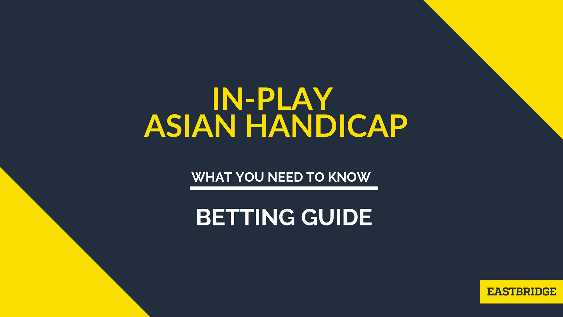 In-play Asian Handicap