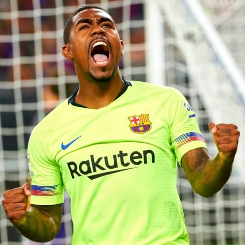 Barca's new signing, Malcom