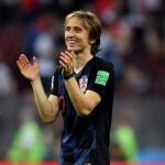 Croatian Luka Modric