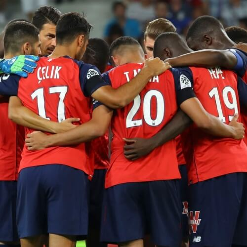 LOSC Lille's first match