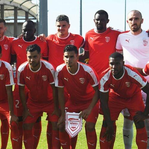 Nîmes Olympique Ligue1 action