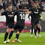 Eintracht against Lazio