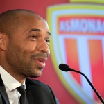 Monaco coach Thierry Henry