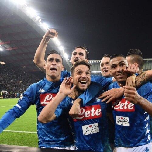 Napoli draw against PSG