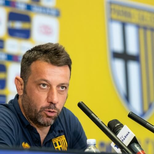 Parma's Roberto D'Aversa