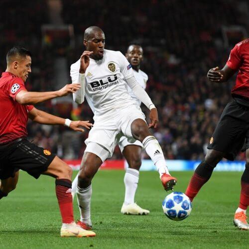Valencia midfielder Geoffrey Kondogbia