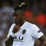 Valencia striker Michy Batshuayi