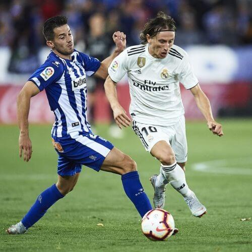 Alaves v Real Madrid