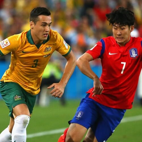Australia v South Korea