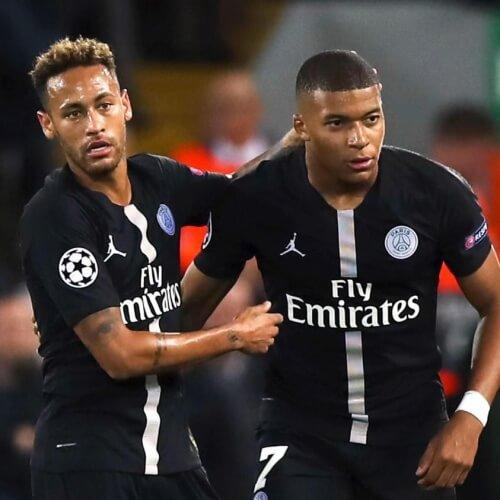 Neymar & Mbappe