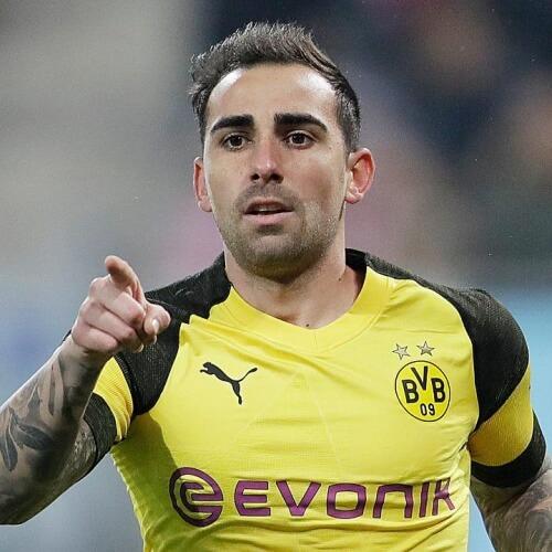 Paco Alcacer's Bundesliga stint