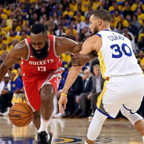 Rockets v Warriors