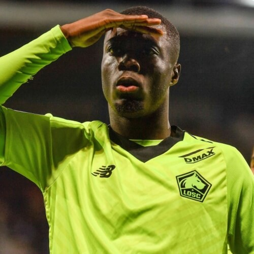 Arsenal eyes Nicolas Pepe