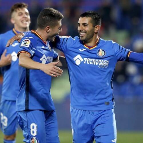 Getafe striker Ángel