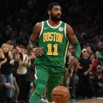 Kyrie Irving leading Celtics