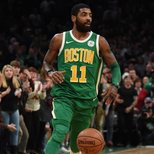 Kyrie Irving leading Celtics