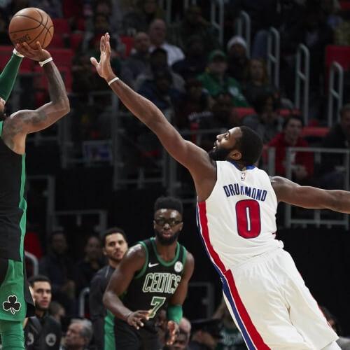 Pistons v Celtics
