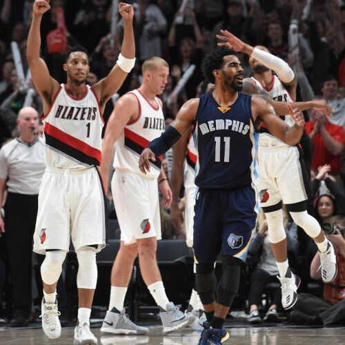 Trail Blazers v Grizzlies