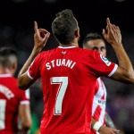 Uruguay striker Cristhian Stuani