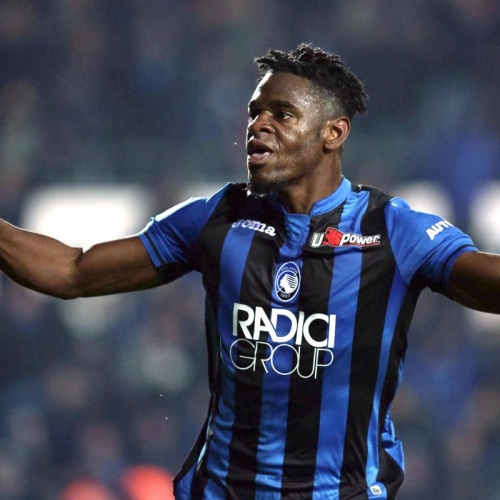 Colombian Striker Duvan Zapata
