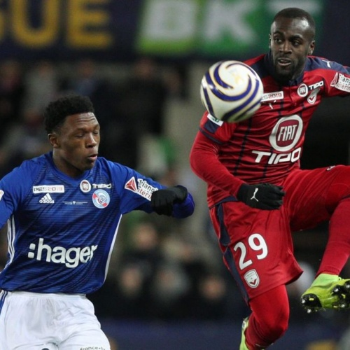 Senegalese midfielder Younousse Sankhare