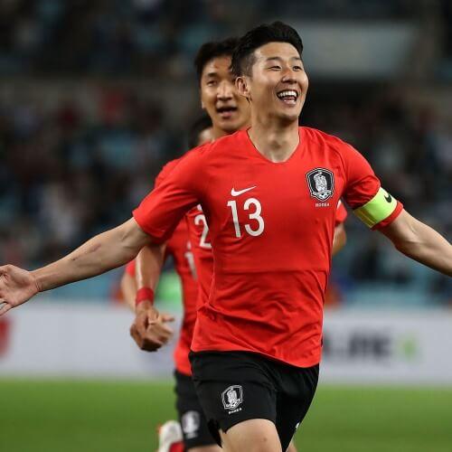 Son Heung-Min Korea national team