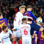 Painful defeat for Sevilla