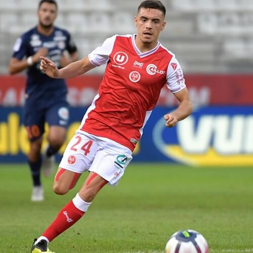 Midfielder Mathieu Cafaro