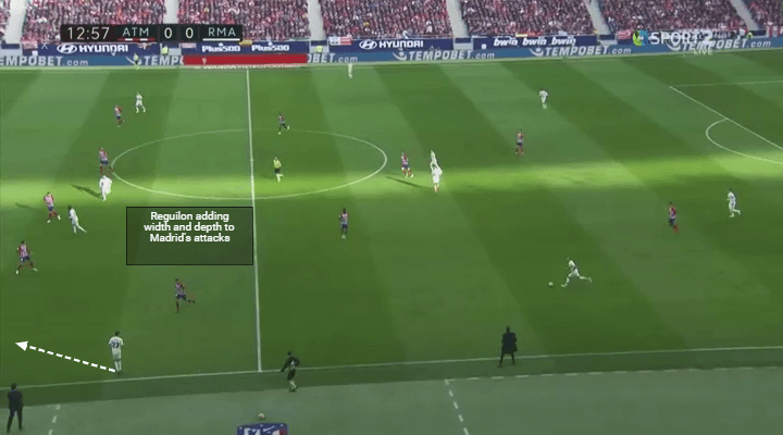 Player Analysis Sergio Reguilon adding width and depth to Madrid's attacks