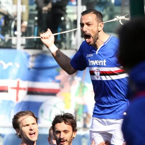 Forward Fabio Quagliarella