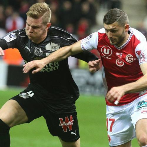 Reims midfielder Arber Zeneli