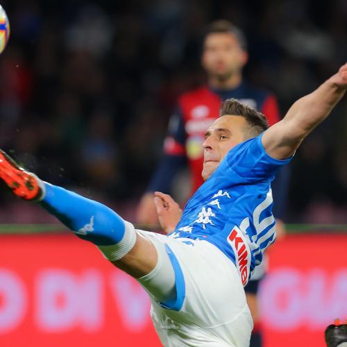 Serie A Player Analysis: Napoli's Striker Arkadiusz Milik