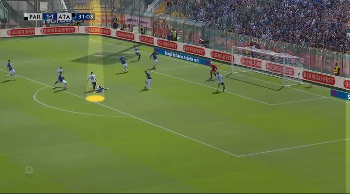 Player Analysis Timothy Castagne Fantastic sliding tackle to prevent a shot