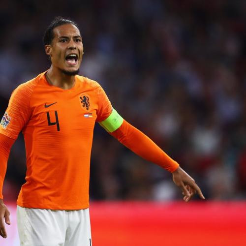 Virgil Van Dijk for Netherlands